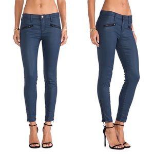 Current/Elliot The Soho Zip Stilleto Navy Jeans